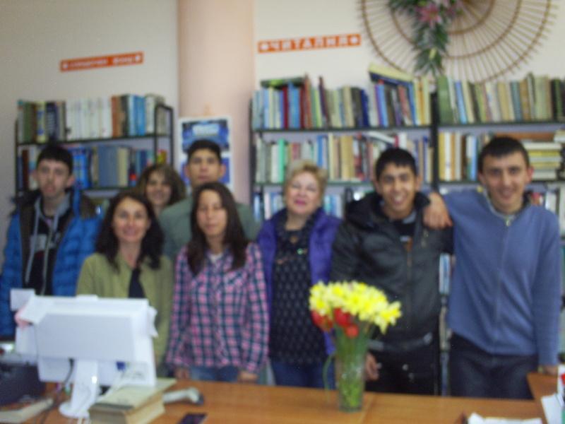 Посещение на библиотека Асен Златаров г 2014-2015