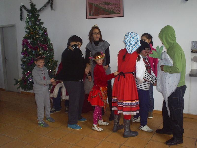 Училищно коледно тържество 2014-2015