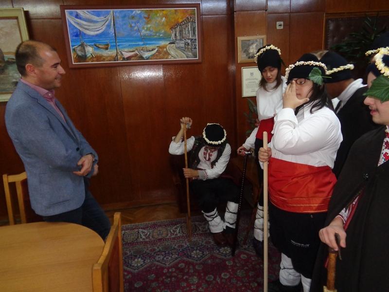 Коледуване в Областна дирекция на МВР-Бургас