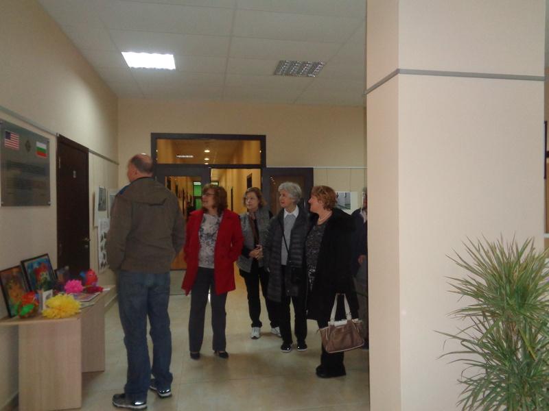 Посещение на Никол Симънс, съпруга на посланика на САЩ- Ерик Рубин (17.04.18 г.)