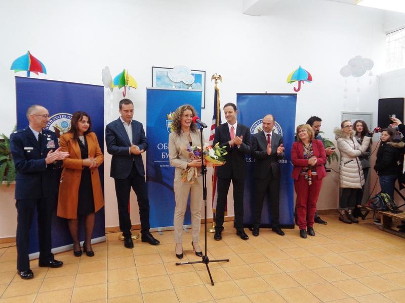 Тържествено откриване на обновената сграда на ЦСОП- Бургас 16.11.2018 г.