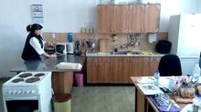 Кабинет по учебна практика за професионалната паралелка по готварство